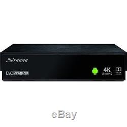 Strong Srt 2400 Schwarz Set-top-box Dvb-c S S2 T T2 Sat Kabel Receiver Hdtv