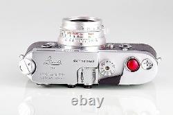 Super Top Leica Leitz Wetzlar M4 + Summicron 2/35 8 Elements Set Boxed Near Mint