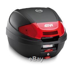 Suzuki SV 650 2018 GIVI E300N2 TOP BOX + 3111FZ RACK + M5M complete Monolock Set