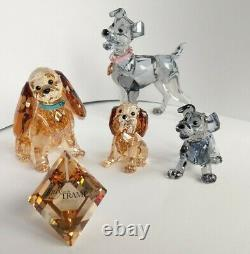 Swarovski Disney Lady and the Tramp Set TOP ZUSTAND MINT IN BOXES