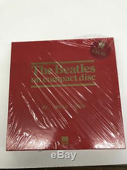 THE BEATLES-HMV BOX SET-RED BOX-COMPLETE-Top Lid withSW and sticker-9.2