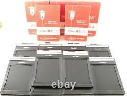 TOP MINT with BOX LISCO REGAL II 4x5 Cut Film Holder lot of 10 Set