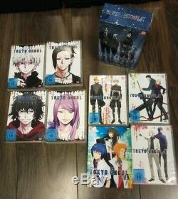 Tokyo Ghoul DVD Box Set Staffel 1+2 Vol. 1 bis 8 + OVA Jack deutsch Top ++