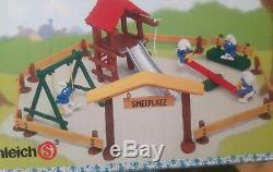 Top! 40713-Spielset Spielplatz in OVP Smurf Box 6 Circle Pitufo Puffi