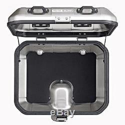 Top Box Set Givi Honda Hornet 600 11-13 DLM30A Mkey silver