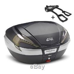 Top Box Set Givi Honda VFR 800 F 98-01 Givi Monokey V56NNT black/carbon