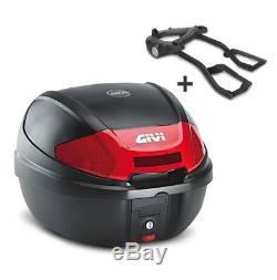 Top Box Set Givi Suzuki SV 650 03-08 E300N Monolock black