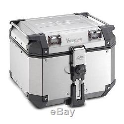 Top Box Set Kymco Xciting 400 i 14-16 Kappa Monokey KVE42A Alu silver
