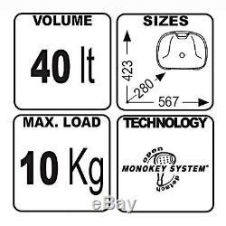Top Box Set Yamaha XJR 1300 04-06 Givi Monokey E360N black