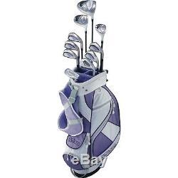 Top Flite Golf Flawless Girls Teen Varsity Box Set Right Hand Ladies Purple NEW