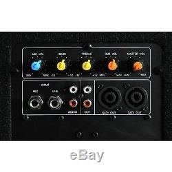 Top Ibiza Cube 1812 2.1 Aktiv Pa Dj Lautsprecher Box System Subwoofer Sound Set