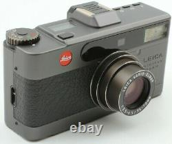 Top Mint in Case & Box Leica minilux Zoom Black Camera Bogner Set from Japan