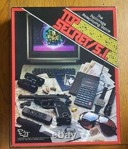 Top Secret/s. I Core Box Set 1987 Tsr Roleplaying Rpg Osr Roleplay James Bond