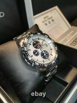 Topseiko V172 0at0 Diver Solar Ssc297 Panda Version Alarm Chronograph Box Set