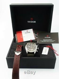 Tudor Black Bay Chrono Full Set Ref 79350-0002 Box&Papiere aus 9-2019 Top Zust