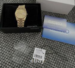 Uhr Seiko SGF206 Gold Datejust Fullset Box Top Rarität! Wie Neu