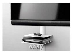 Universal TV Accessories Shelf, Set-Top Box, DVD, PS4 One For all- White Metal