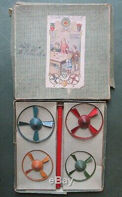 VIDEO Set Marklin Germany spinning tops box spinner kriesel