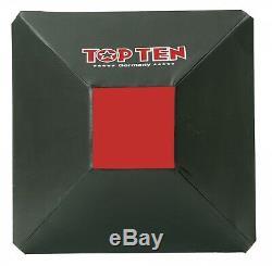 Wandschlagkissen schwarz 60 x 60 x 20 cm Kickboxen Boxen Schlagpolster TOP TEN