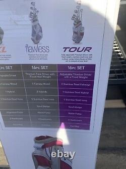 Women's Top Flite Tour Golf Club Set With Original Box