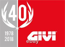 YAMAHA MT-10 2018 TOP BOX complete set GIVI E340NT CASE + SR2129 RACK + PLATE
