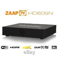 ZAAPTV HD609N ARABIC IPTV SET TOP BOX ZAAPTV ARABIC + WIFI 3 YEAR SUB zaap tv