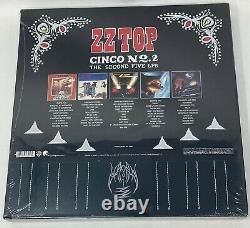 ZZ TOP Cinco No. 2 The Second Five LPs vinyl 5-LP Box Set NEW SEALED