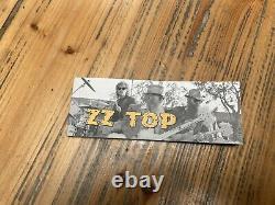 ZZ Top Chrome Smoke BBQ box Set VGC